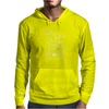 Cosmo + Celeste ( Colorful Cosmological Night Sky Couple in Love Ice Blue ) Mens Hoodie
