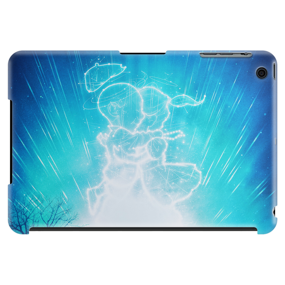 Cosmo + Celeste ( Colorful Cosmological Night Sky Couple in Love Ice Blue ) Tablet