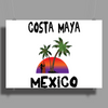 Costa Maya Mexico Poster Print (Landscape)
