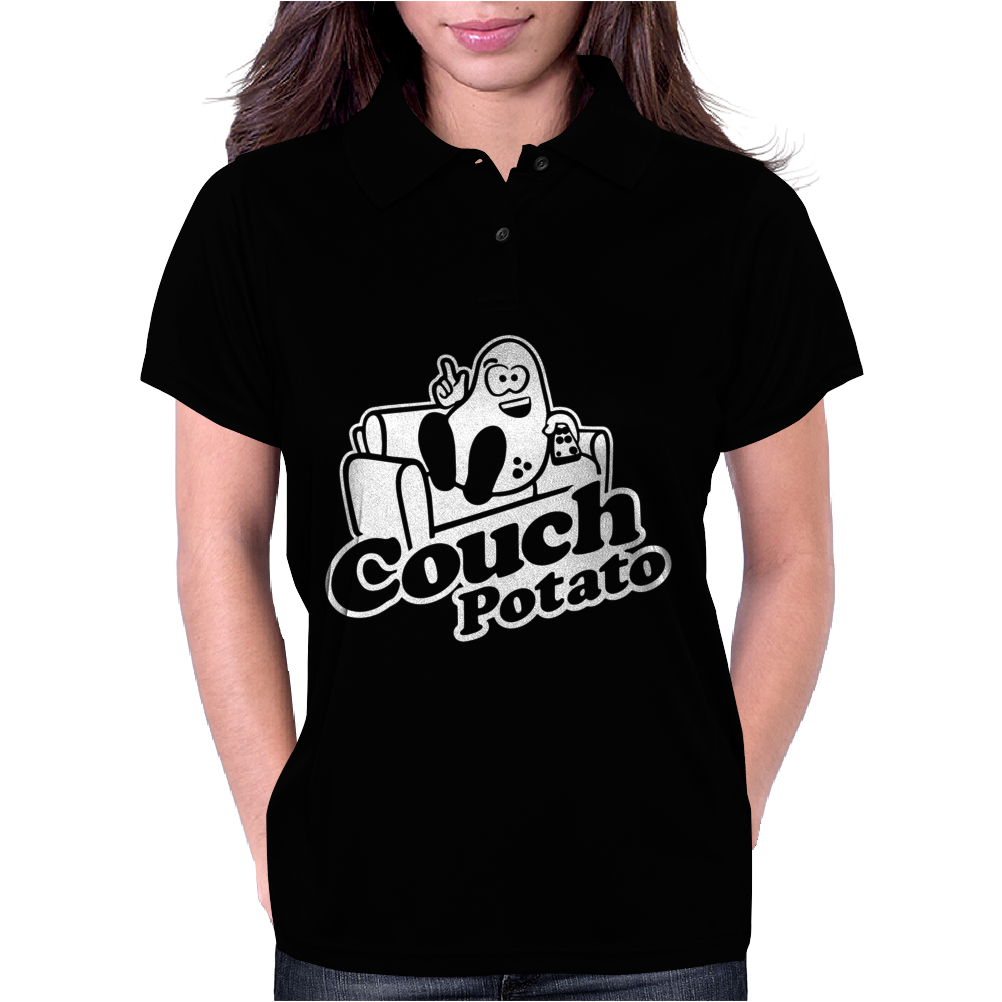 Couch Potato Womens Polo