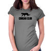 cougar club Womens Fitted T-Shirt