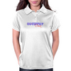 Country Diva - Red & Blue Womens Polo