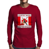 Country Music- Written In Blood Mens Long Sleeve T-Shirt