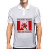 Country Music- Written In Blood Mens Polo
