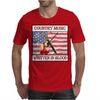 Country Music-Written In Blood Mens T-Shirt