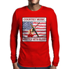 Country Music- Written With Blood Mens Long Sleeve T-Shirt
