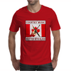 Country Music - Written With Blood Mens T-Shirt