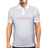 Cow Girl Logo - Light Pink Mens Polo