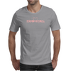 Cow Girl Logo - Light Pink Mens T-Shirt