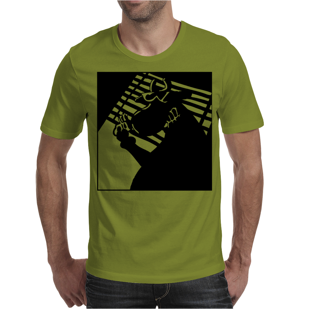 Cow Noir Mens T-Shirt