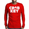 Crab Key Mens Long Sleeve T-Shirt