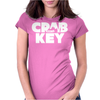 Crab Key Womens Fitted T-Shirt