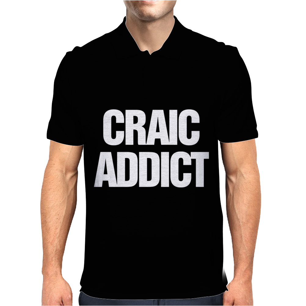 Craic Addict Mens Polo
