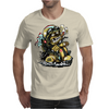 Crazy Biker Mens T-Shirt