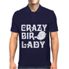 Crazy Bird Lady Mens Polo