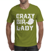 Crazy Bird Lady Mens T-Shirt
