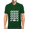 Crazy Cat Lady Female Funny Mens Polo