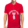 Crazy Cat Lady. Mens Polo