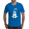 Crazy Cat Mens T-Shirt