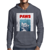 Crazy Cat Meow Paws Jaws Mens Hoodie