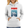 Crazy Cat Meow Paws Jaws Womens Hoodie