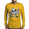 Crazy Cow Mens Long Sleeve T-Shirt