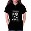 Crazy Farm Lady - Funny Womens Polo