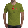 CRAZY FUNNY HUMOUR 911:WHAT IS YOUR EMERGENCY ...I LOVE YOU, HANG UP NO YOU HANG UP FIRST HANG UP! Mens T-Shirt