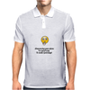 crazy funny humour satire make God laugh Mens Polo