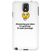 crazy funny humour satire make God laugh Phone Case