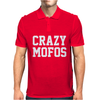 CRAZY MOFOS Mens Polo