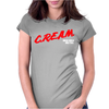 Cream Dare Wu Tang Womens Fitted T-Shirt