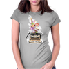 Creativity by retro typewriter Womens Fitted T-Shirt