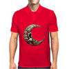Crescent Skull Mens Polo