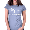 Cricket It's An Aussie Thing Womens Fitted T-Shirt