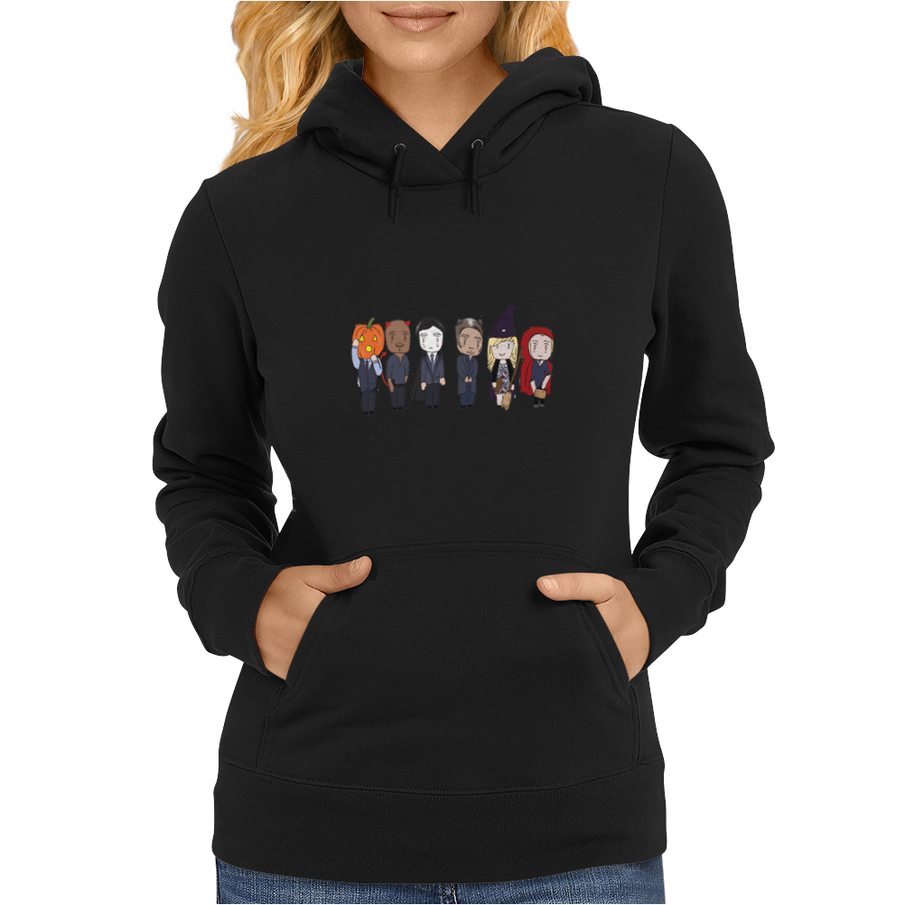 Criminal Minds Halloween Womens Hoodie