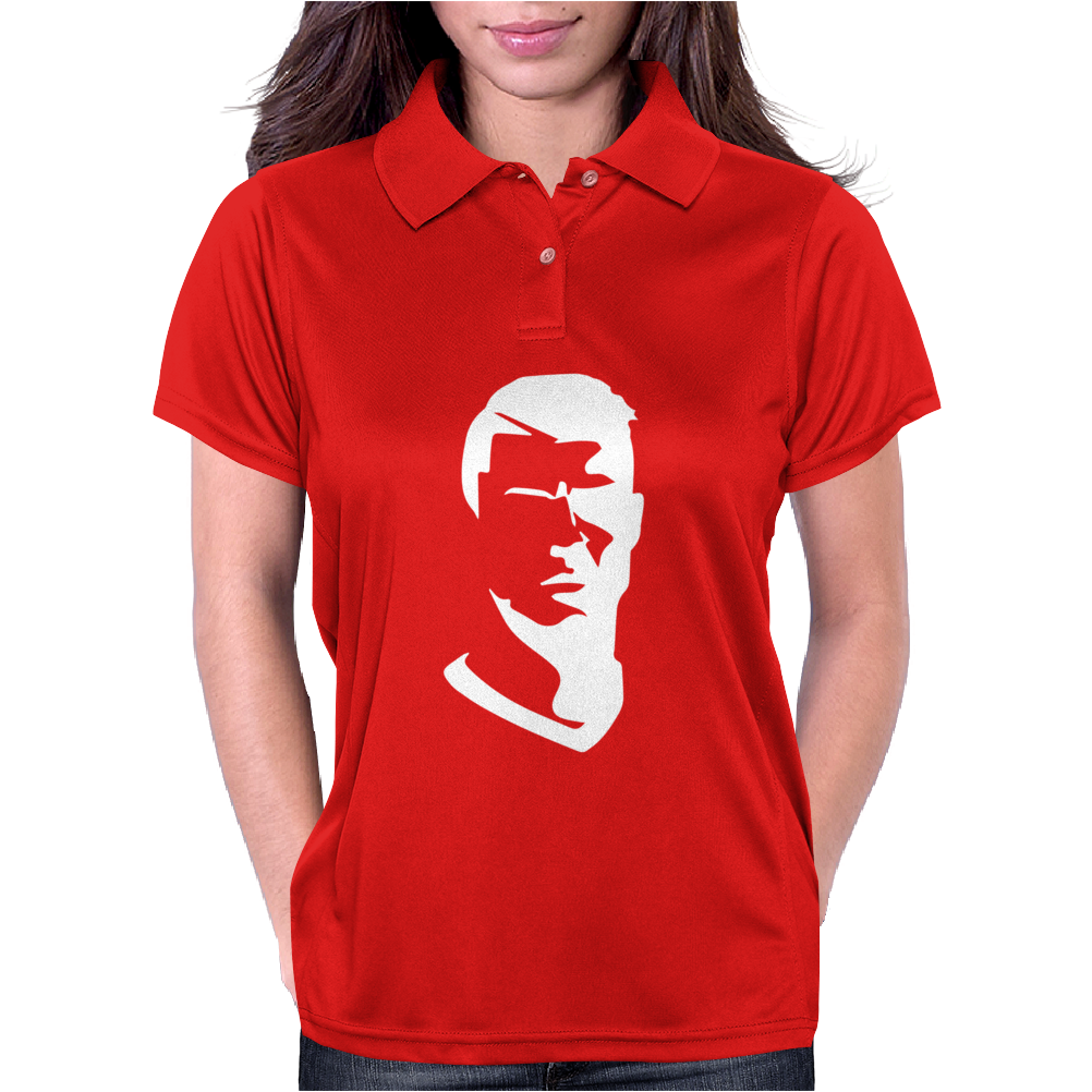 Cristiano Ronaldo Printed Crew neck Football Fan's Womens Polo