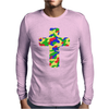 Croce Militare Colorata Mens Long Sleeve T-Shirt