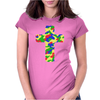 Croce Militare Colorata Womens Fitted T-Shirt