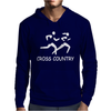 Cross Country High School Running Mens Hoodie
