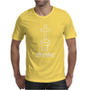 Cross & Hand Mens T-Shirt