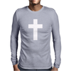 Cross Religion Cool Dope Swag Hipste Mens Long Sleeve T-Shirt