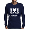 Crossfit Skull Mens Long Sleeve T-Shirt