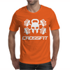 Crossfit Skull Mens T-Shirt