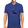 Crow on a Longboard Mens Polo