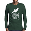 Crows Before Hoes Game Of Thrones Got Mens Long Sleeve T-Shirt