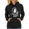 Crows Before Hoes Womens Hoodie