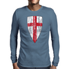 Crusader Flag Mens Long Sleeve T-Shirt