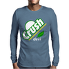 Crush Davis Mens Long Sleeve T-Shirt
