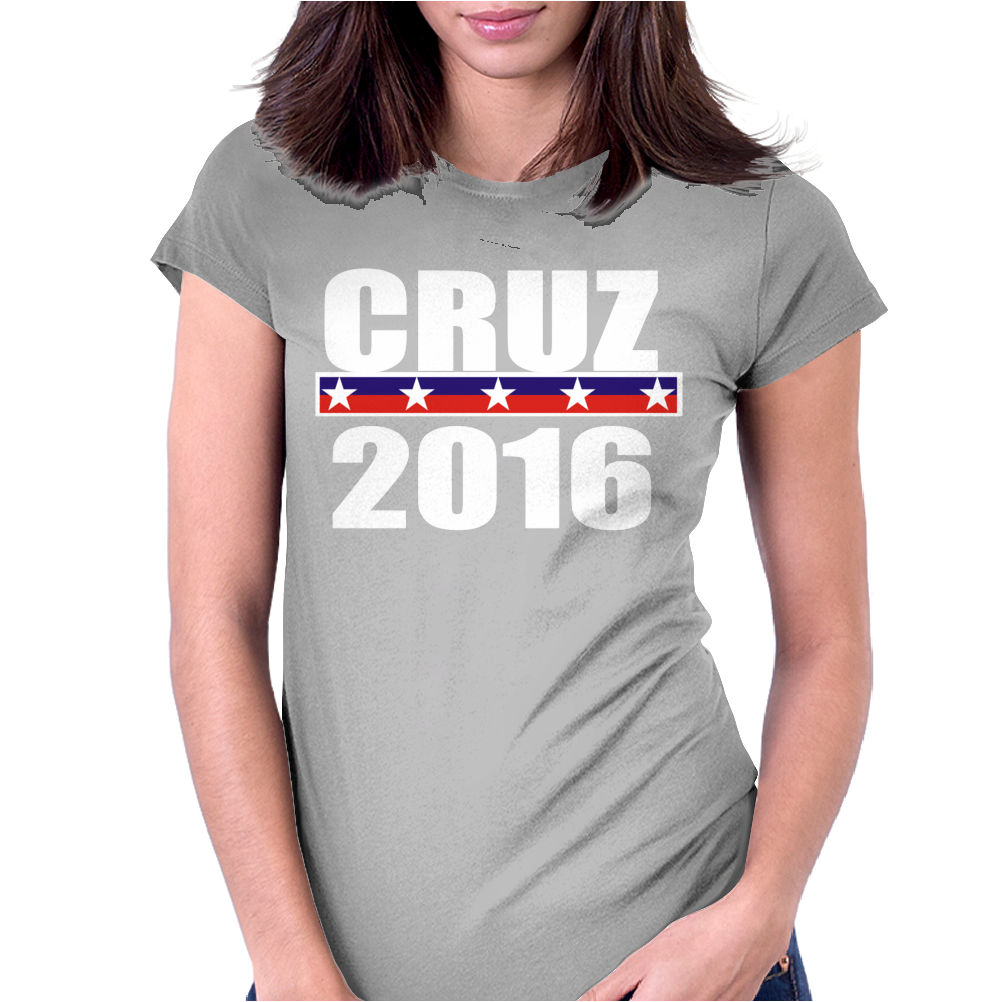 Cruz For President 2016 Womens Fitted T-Shirt